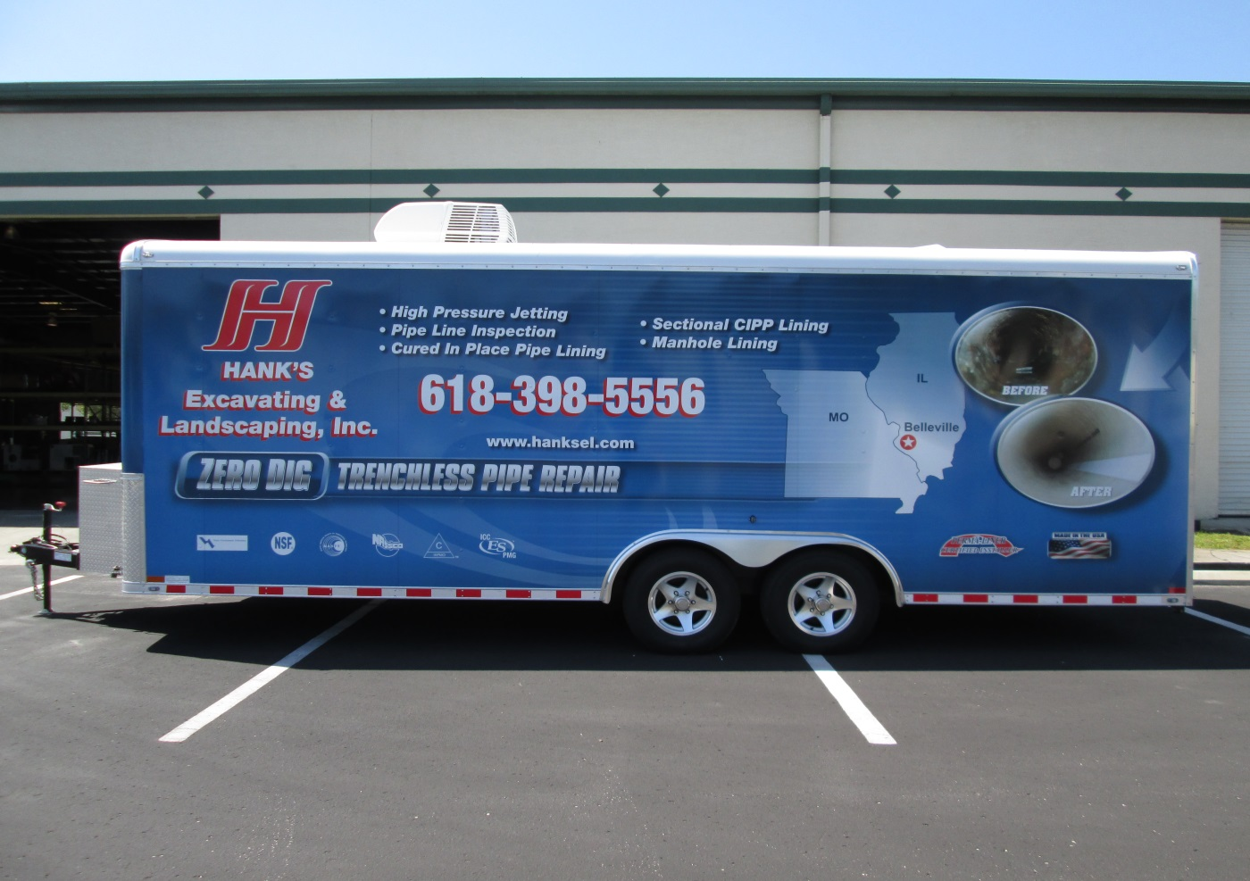 Welcome Hanks Excavating & Landscaping Inc. to the Perma-Liner Family